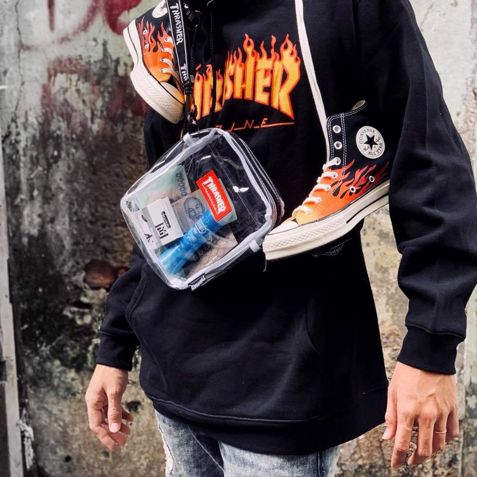 SHOULDER BAG THRASHER WHITE