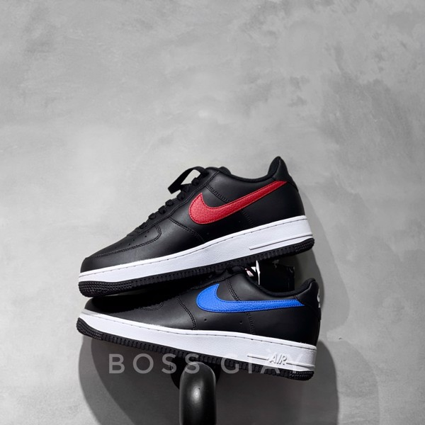 [CT2816-001] NIKE AIR FORCE 1 BLACK BLUE/RED