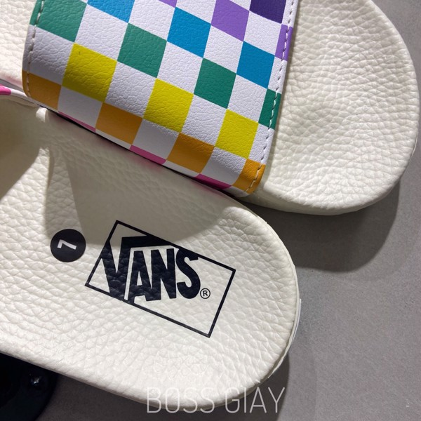 [VN0A38EH066] VANS SLIDE CHECKERBOARD MULTICOLOR