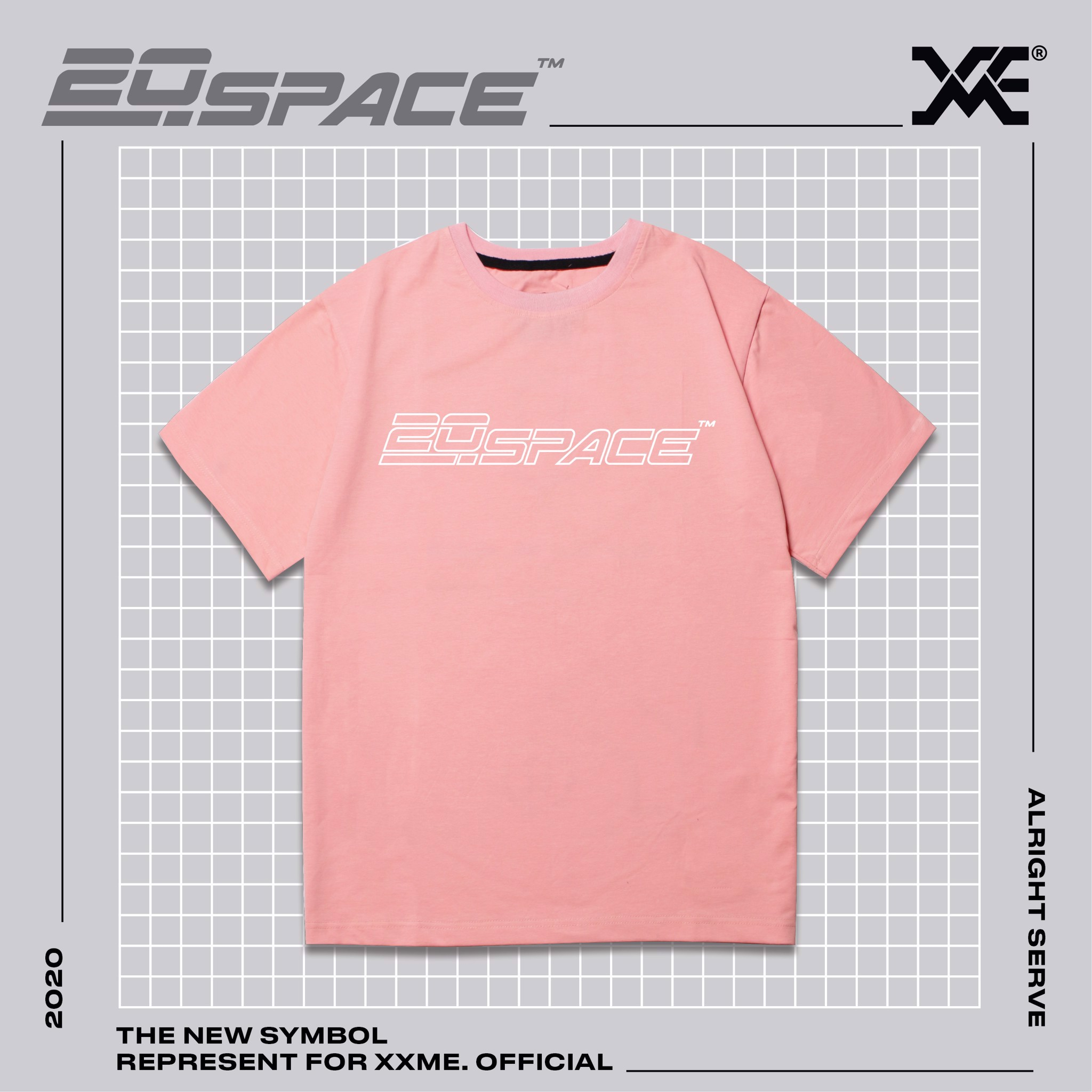 20SPACE Tshirt - PINK