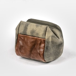 Túi Máy Ảnh Wotancraft FULL LEATHER ACCESSORY POUCH (S size) - Hàng Apple8