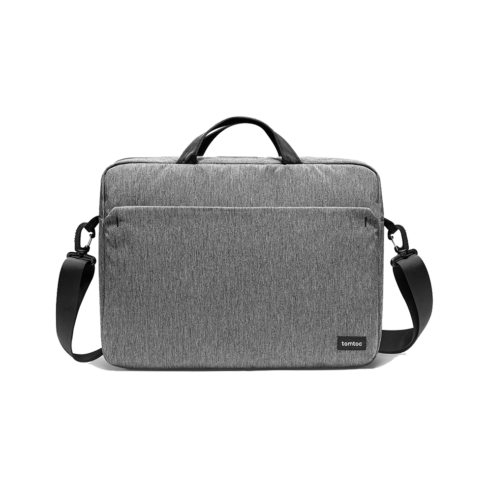TÚI XÁCH TOMTOC (USA) SHOULDER BAG FOR ULTRABOOK 15″ GRAY – A51