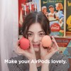 ỐP AIRPODS ELAGO PEACH CHO AIRPODS 1 & 2 - Hàng Apple 8