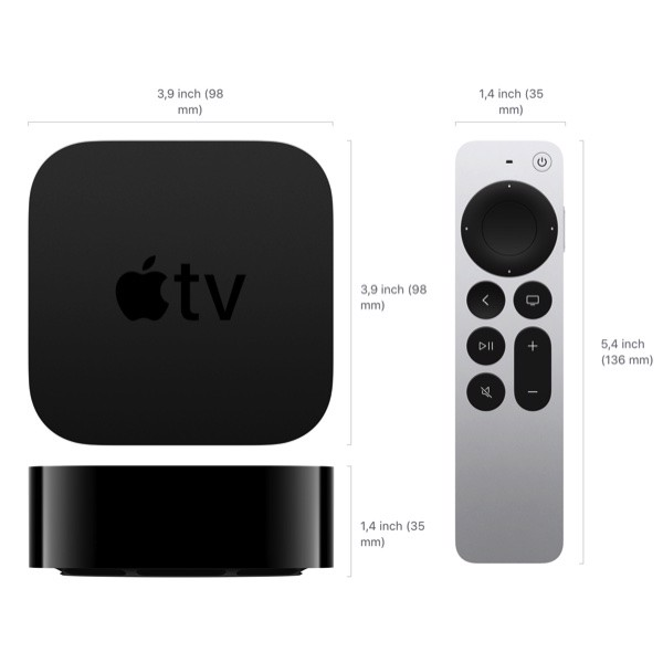 Apple TV 4K NEW 64GB MXH02ZA/A - Hàng Apple8