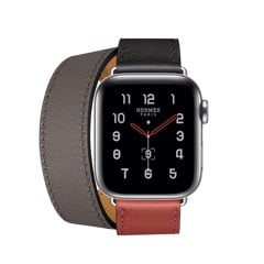 Đồng Hồ Apple Watch Series 5 Hermès Stainless Steel 40mm Dây Đôi - Hàng Apple8