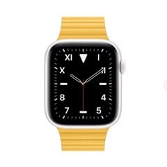 Đồng Hồ Apple Watch Series 5 White Ceramic 44mm Dây Da - Hàng Apple8