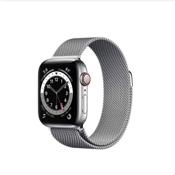Apple Watch Series 6 GPS + Cellular 40mm Viền Thép Dây Kim Loại - Hàng Apple8