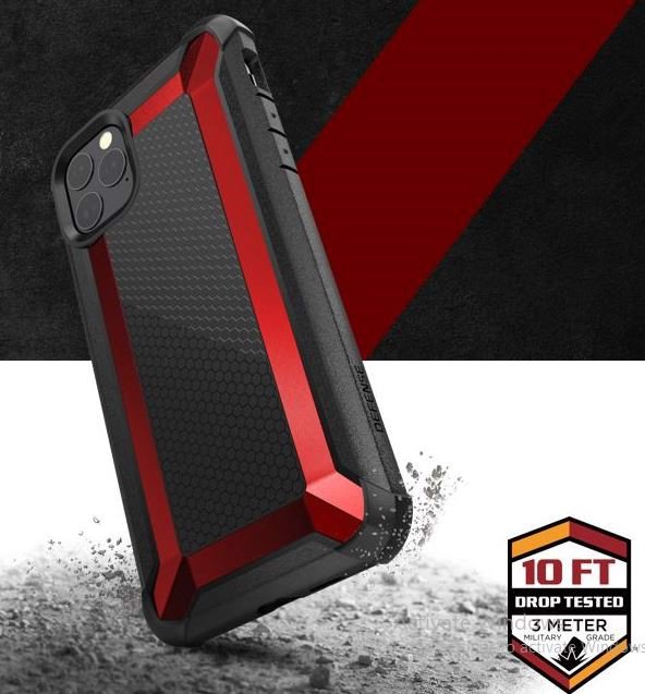 ỐP LƯNG X-DORIA DEFENSE TACTICAL FOR IPHONE 11 Pro MAX - Hàng Apple8