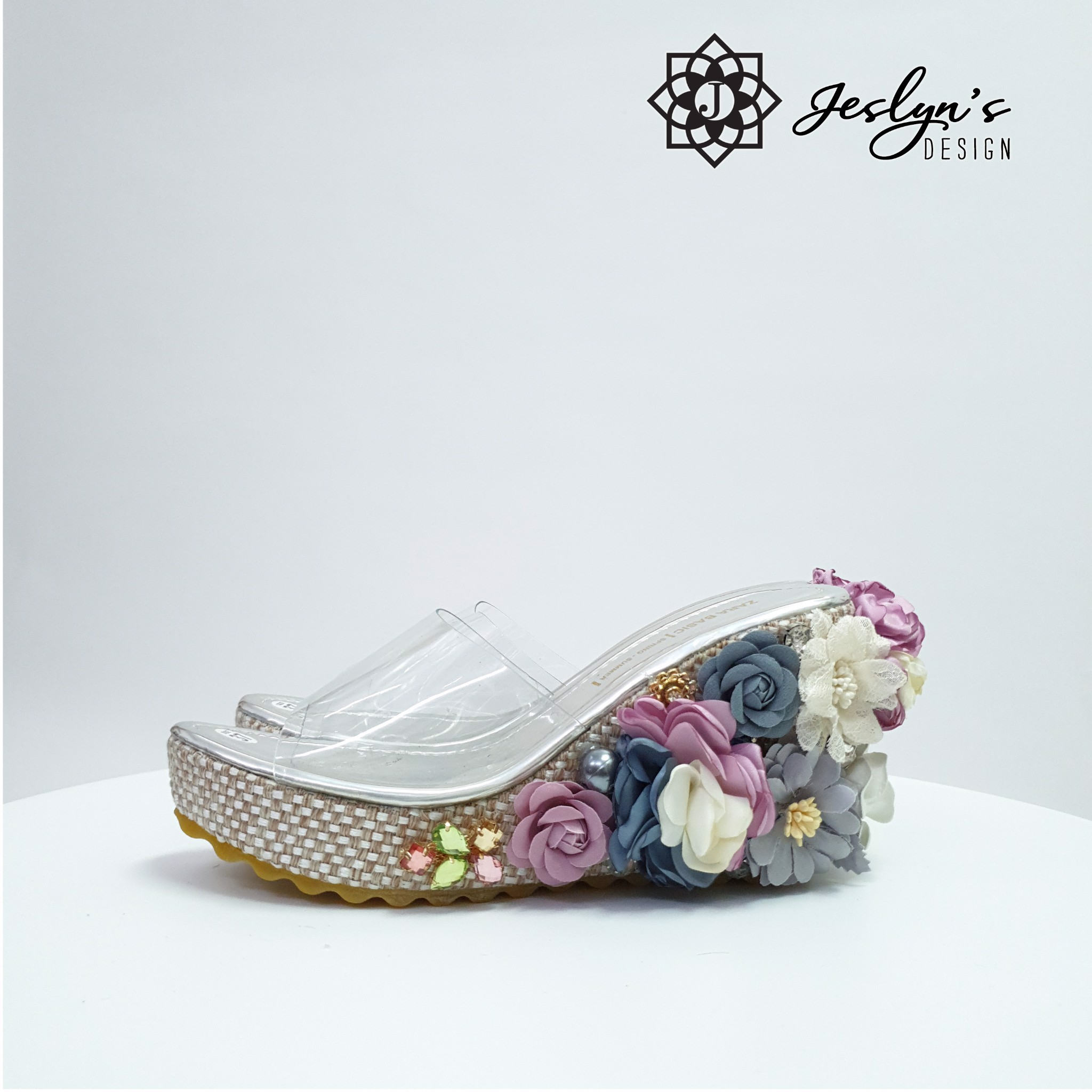 Evening Sky Wedge Sandals - GD12