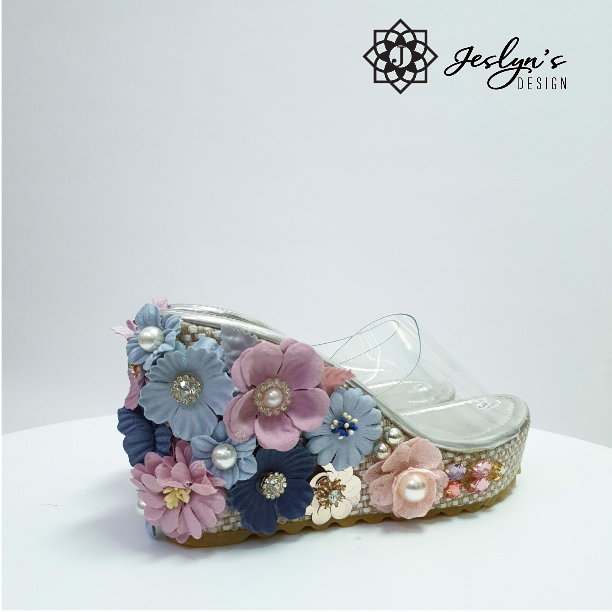Evening Cloud Wedge Sandals - GD16