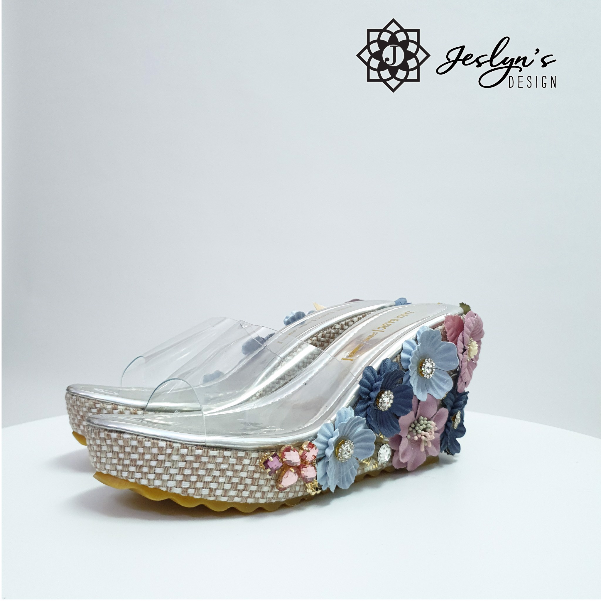 Bloom 3D flowers Wedge Sandals - GD26