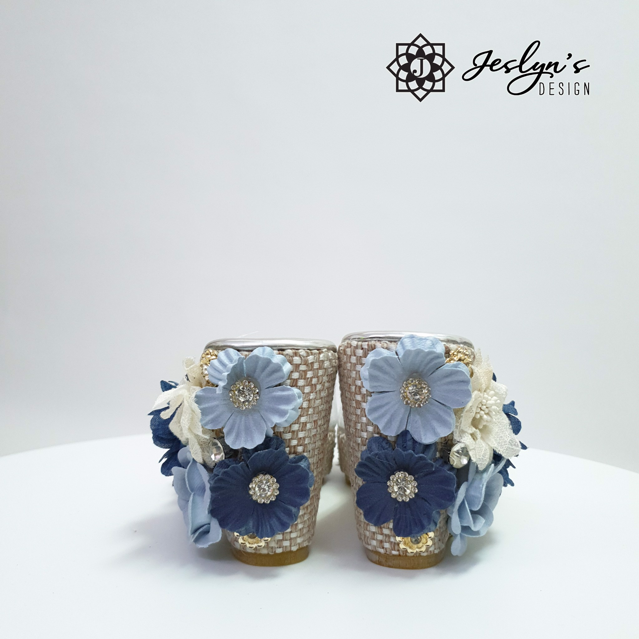 Horizon 3D flowers Wedge Sandals - GD33