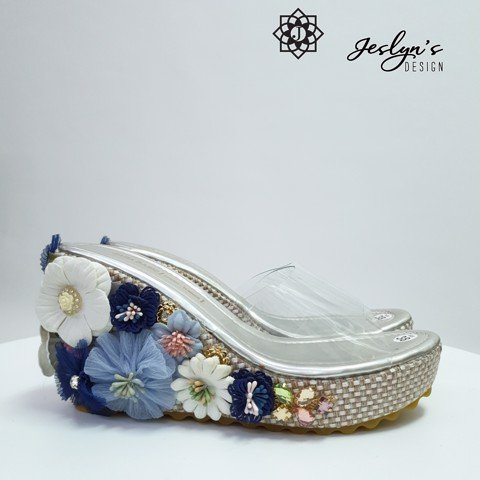 Vigor 3D flowers Wedge Sandals - GD34