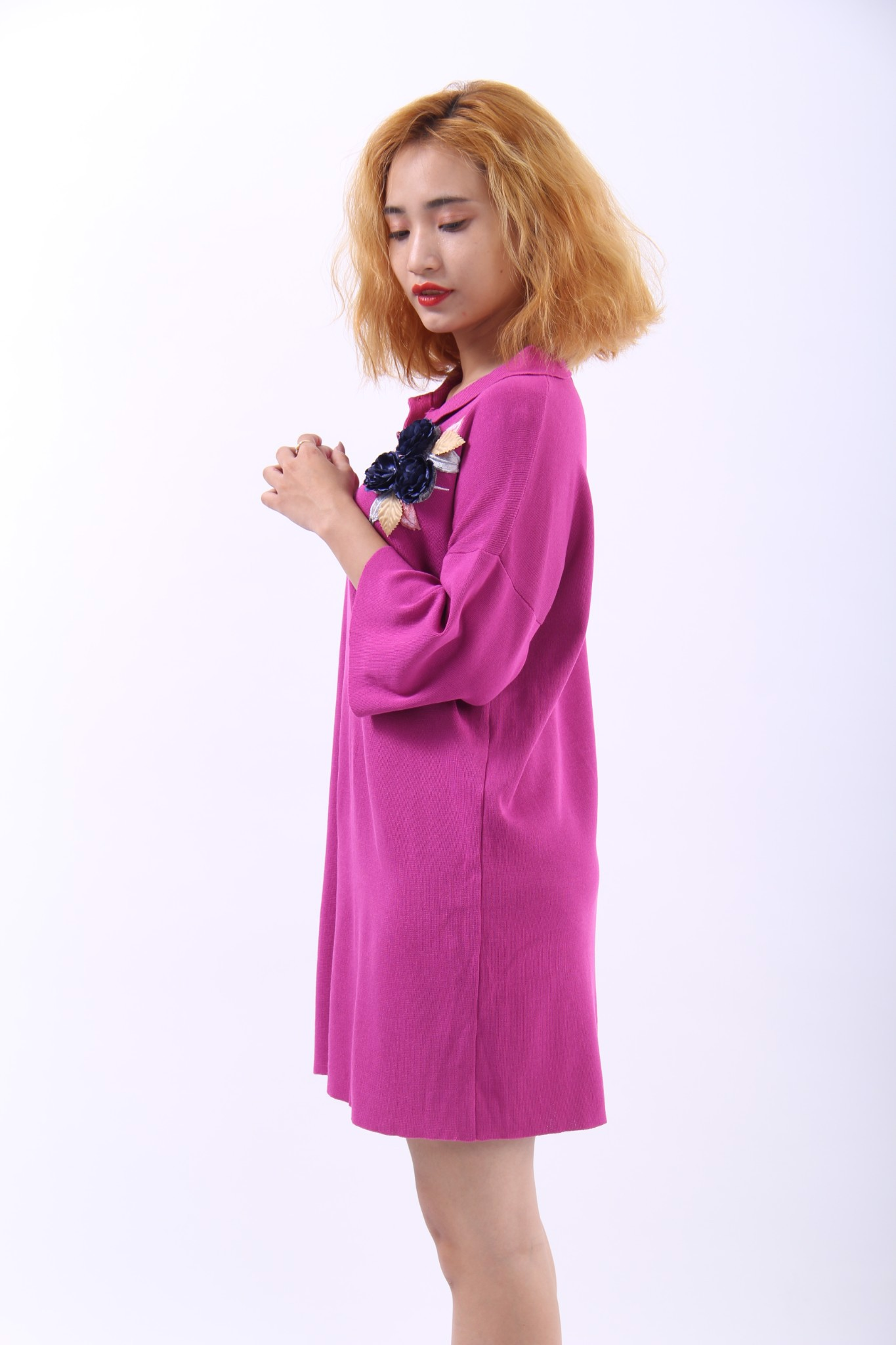 Rosa pink polo dress