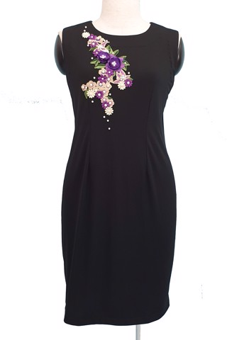 Daisy black dress