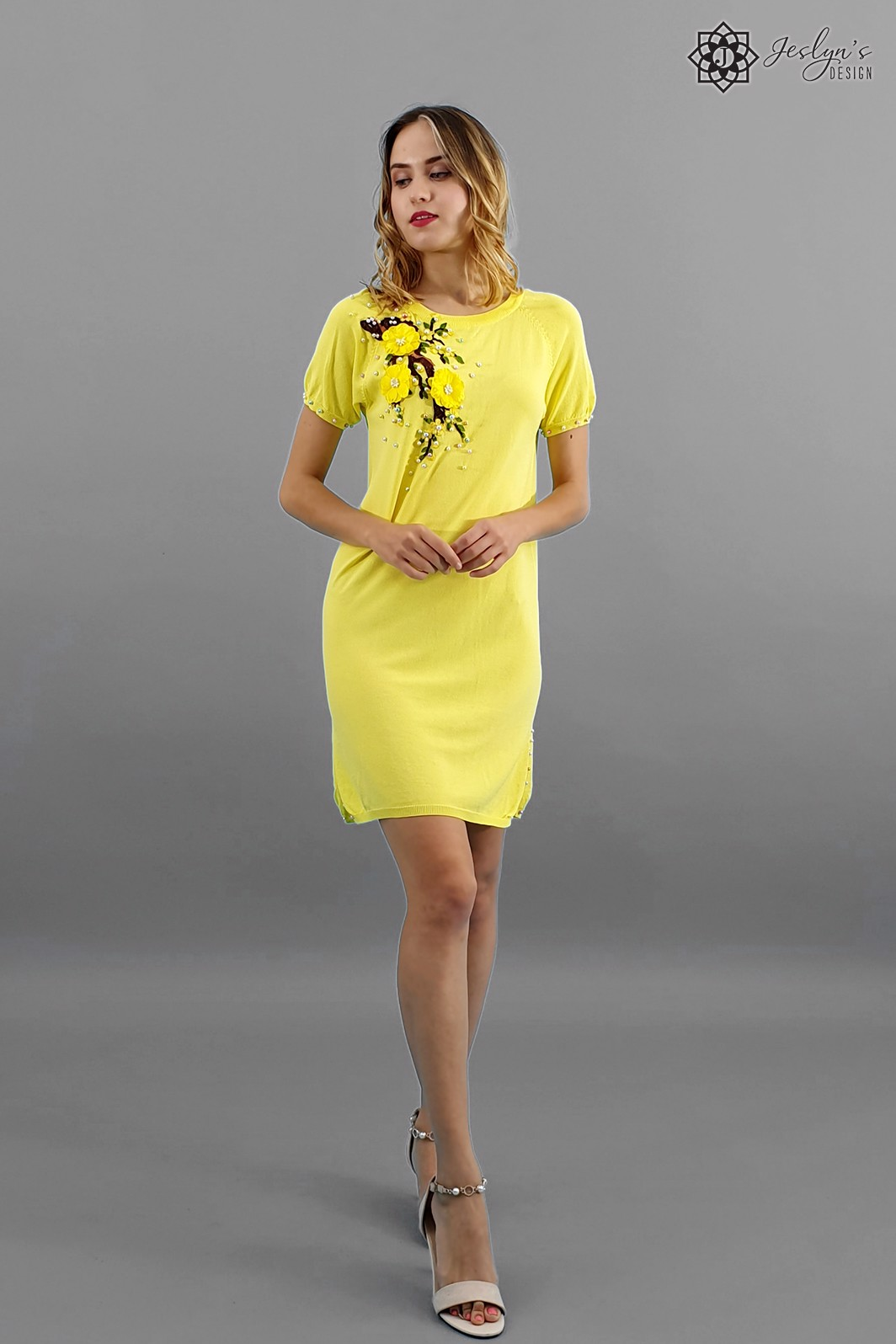 Prunus yellow dress D102J