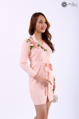 Lisianthus pink dress D99J
