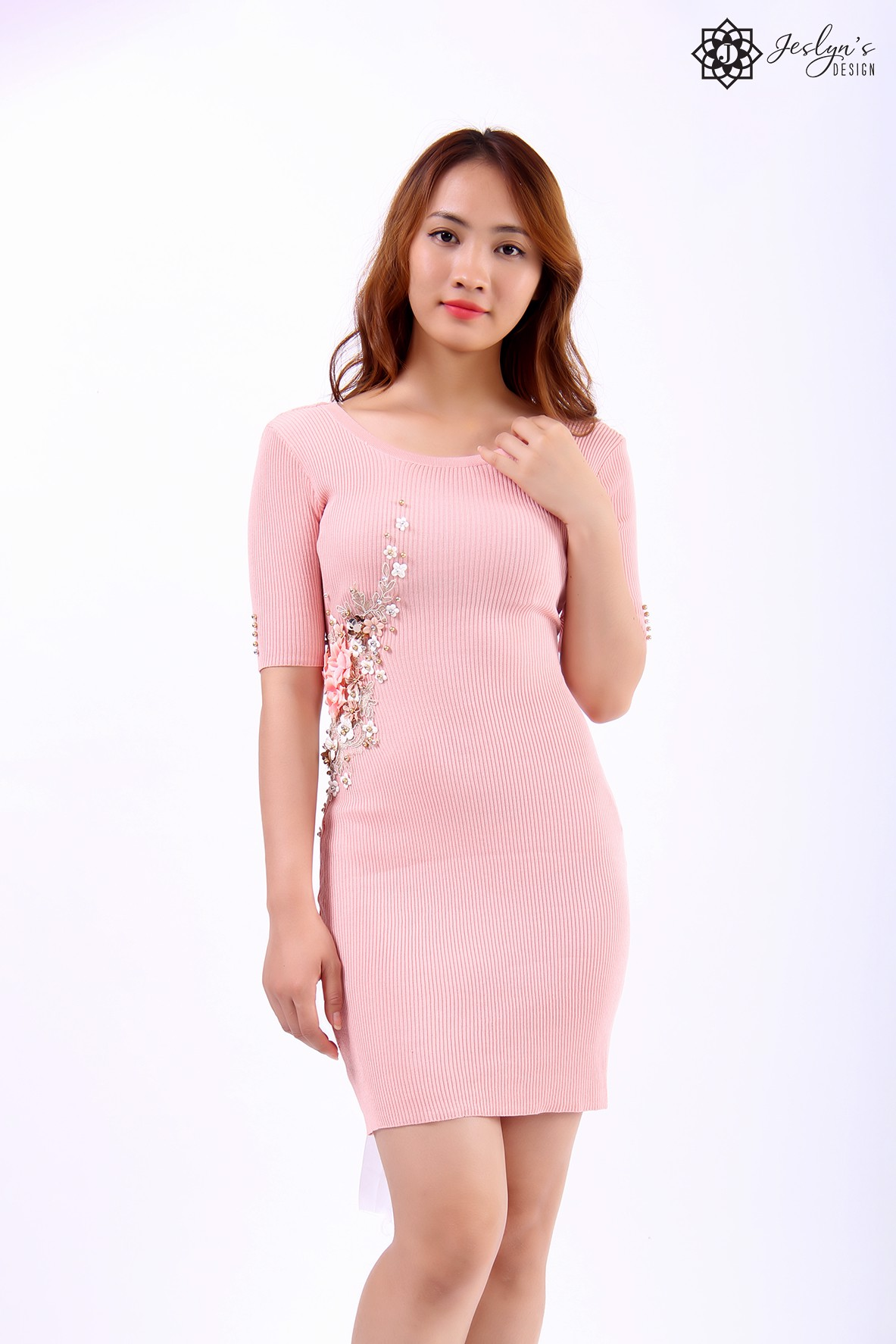 Rose pink dress DT190301-W27