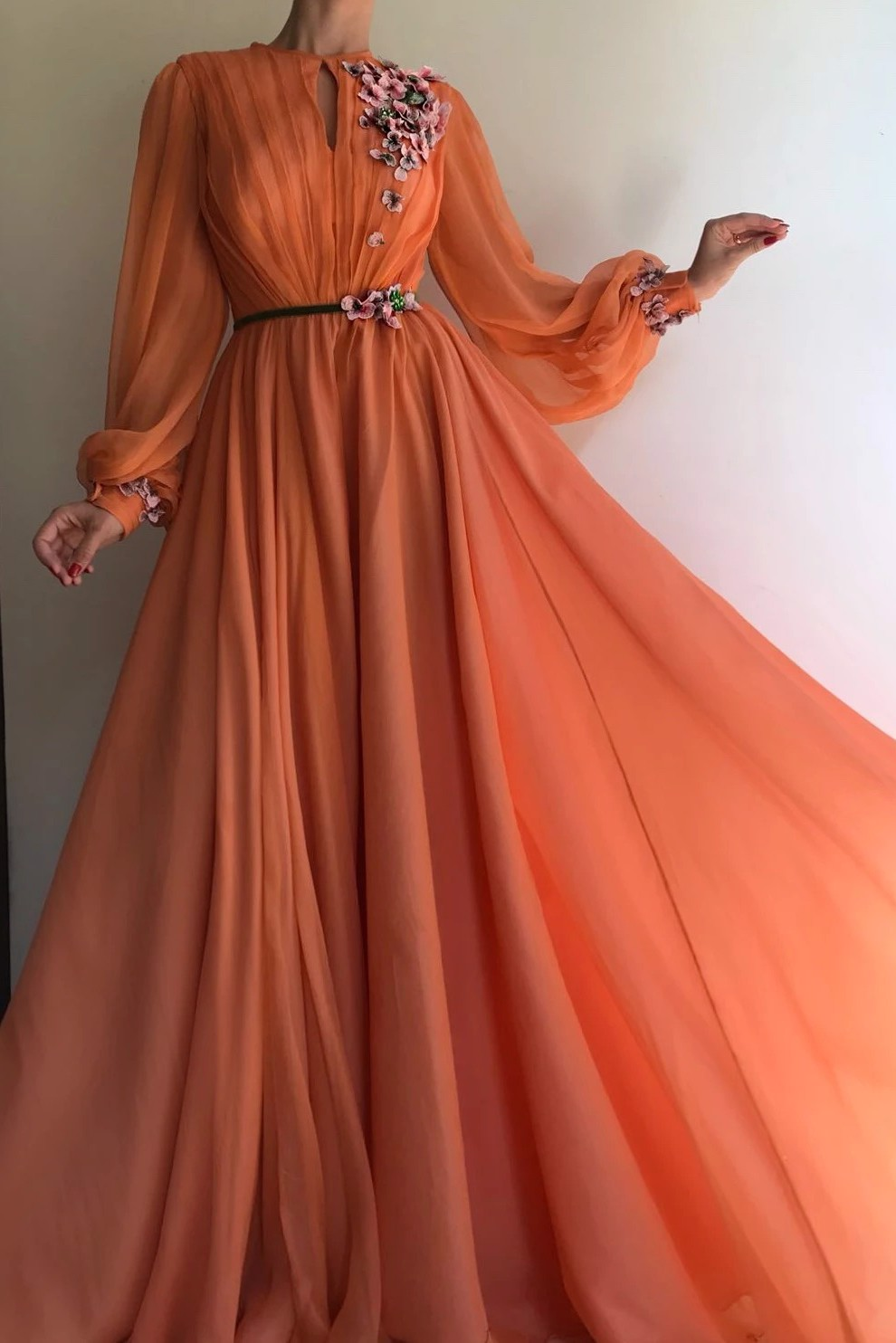 Summer Sunset TMD Gown