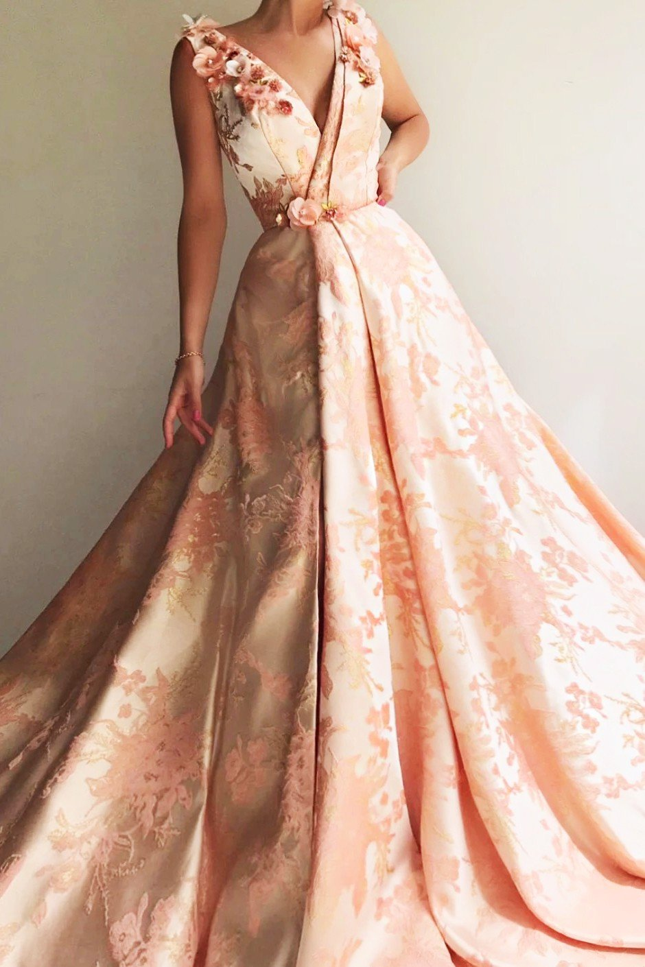 Spring Rose TMD Gown