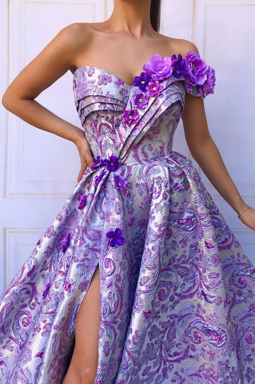 Lavender Beauty TMD Gown