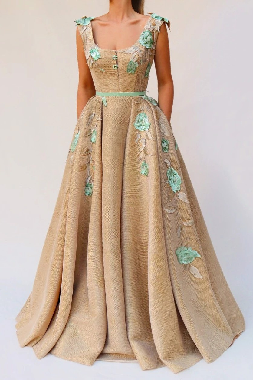 Floweret Mimosa TMD Gown