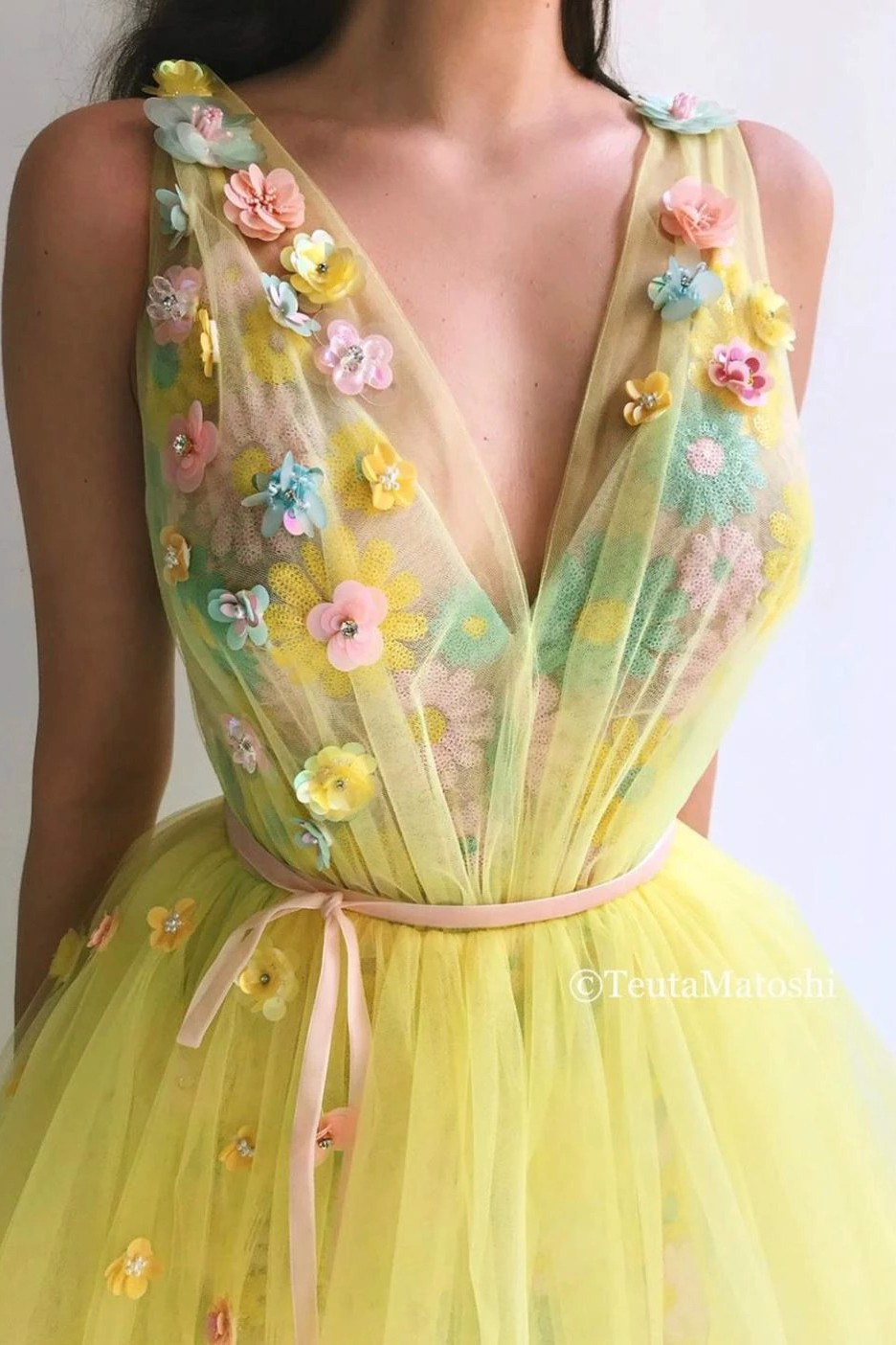 Arylide Bloom Gown
