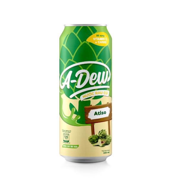 Nước Atiso A-Dew Lon Sleek 330ml