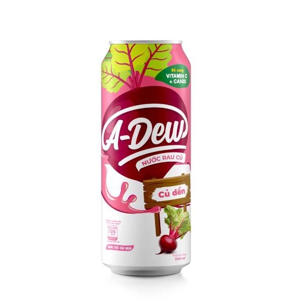 Nước Củ Dền A-Dew  Lon Sleek 330ml