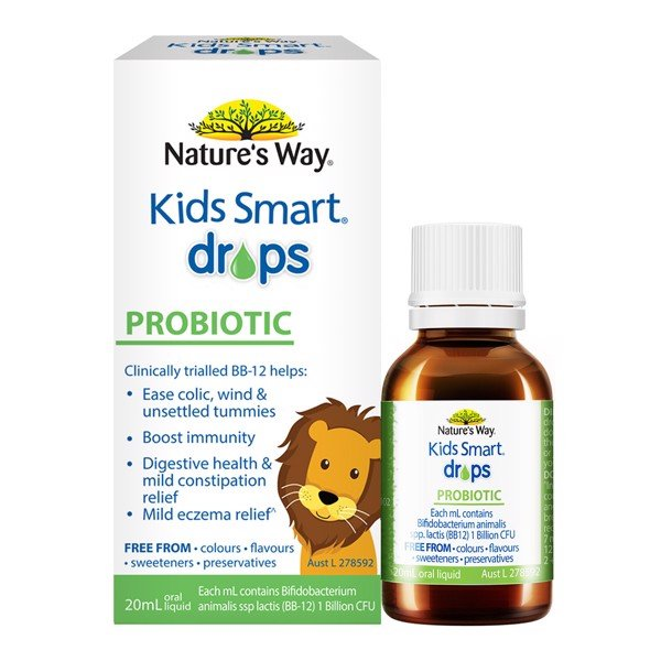 Men vi sinh Nature's Way Drops Probiotic