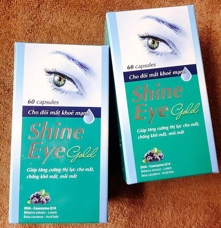 shine Eyes gold lọ 60v