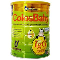 Colosbaby 0+ thanh sữa non (hộp 35 gói * 9,6g)