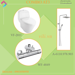 Combo American AT3 Bộ VF-2011 + WF-4948 + A-6110.978.903