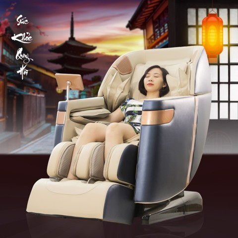 Ghế massage toàn thân Queen Crown QC CX6