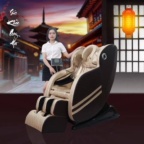 Ghế massage Queen Crown QC V9