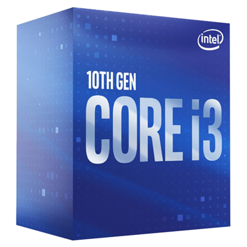 CPU Intel Core i3 10100