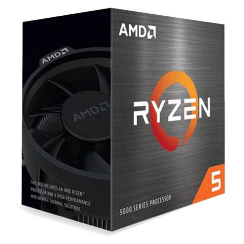 CPU AMD Ryzen 5 5600X 4.6Ghz/35MB/6Cores/Socket AM4
