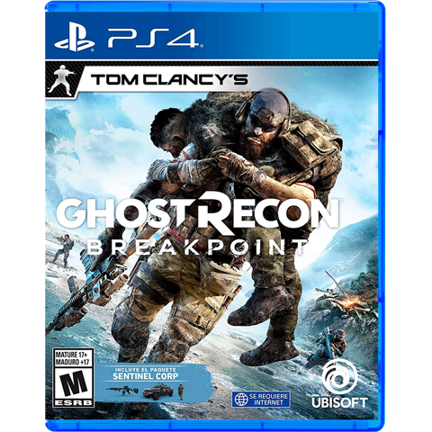 Đĩa Game PS4 Ghost Recom Breakpoint