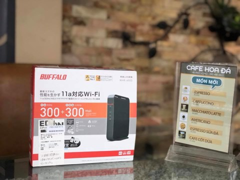 Router Wifi Buffalo WHR 600D