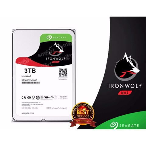 Ổ cứng NAS Seagate Ironwolf 3TB