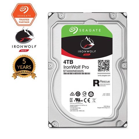 Ổ cứng NAS Seagate Ironwolf 4TB