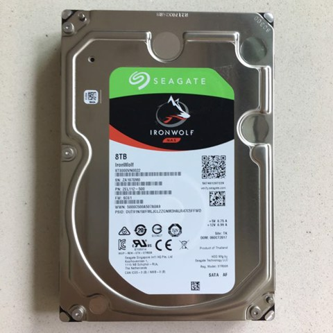 Ổ cứng NAS Seagate Ironwolf 8TB