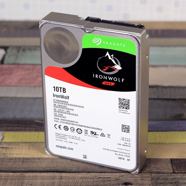 Ổ cứng NAS Seagate Ironwolf PRO 10TB