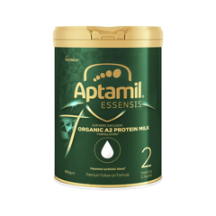 Aptamil Essensis Organic A2 Protein Stage 2 Follow On Formula 900g