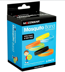 Mosquito Band Kids 6 Pack