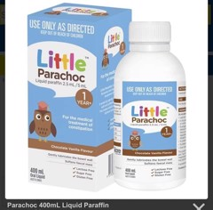 Little Parachoc Liquid Paraffin Chocolate Vanilla
