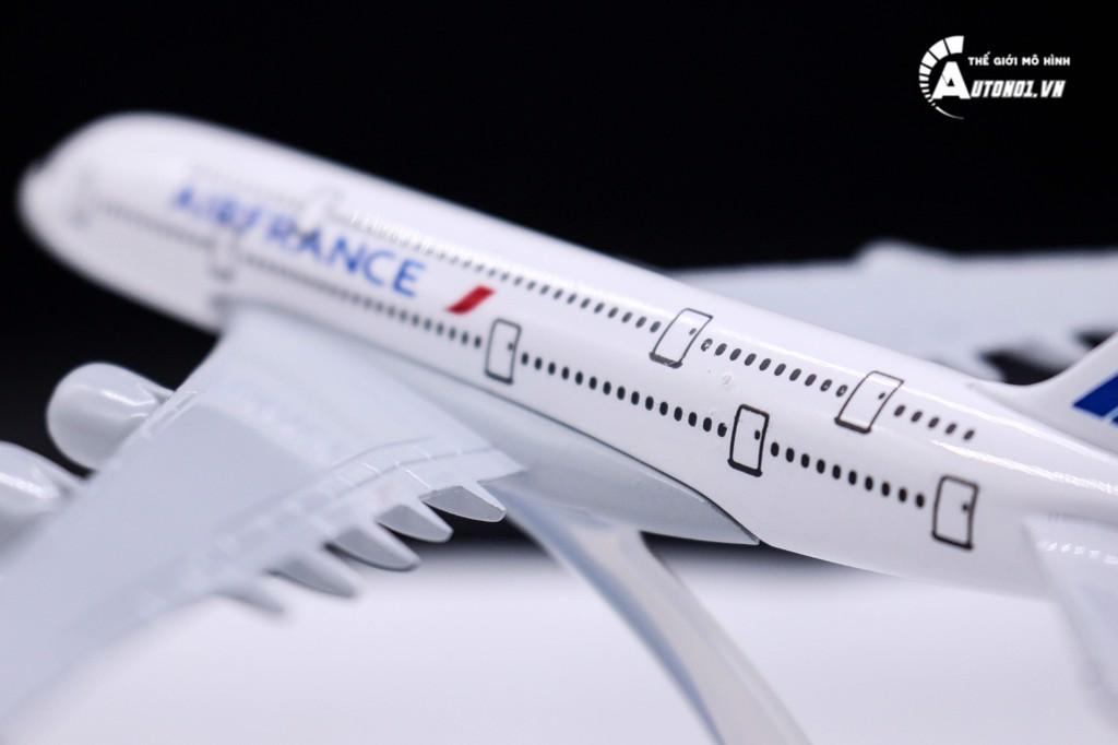 MÔ HÌNH MÁY BAY AIR FRANCE A380 16CM EVERFLY 6231