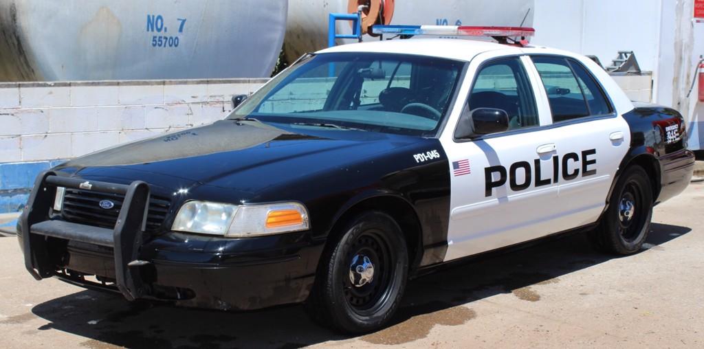 DECAL NƯỚC POLICE USA CHO Ô TÔ 1:24 DC254