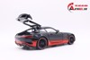MÔ HÌNH XE MERCEDES BENZ AMG GT R BLACK RED 1:24 DIECAST NO BOX 7187