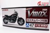 MÔ HÌNH KIT YAMAHA VMAX W/CUSTOM PARTS 1:12 AOSHIMA 7399